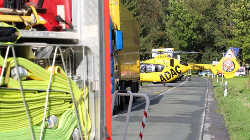 Unfassbare Szenen bei Unfall am Hexenteich in Menden: Feuerwehrmann ...