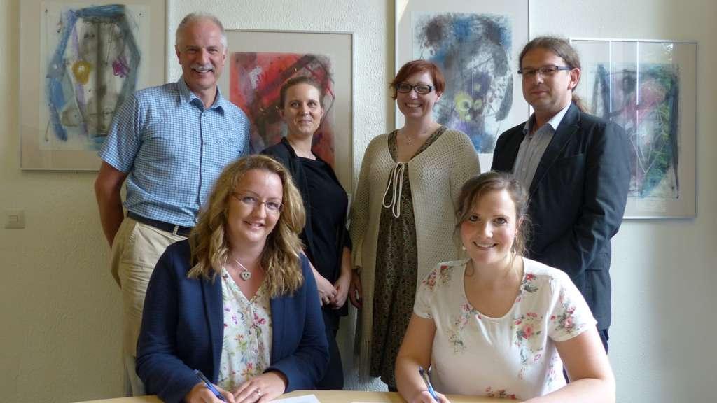 Burggymnasium schließt Kooperationsvertrag mit Caritas (14.06.2018)