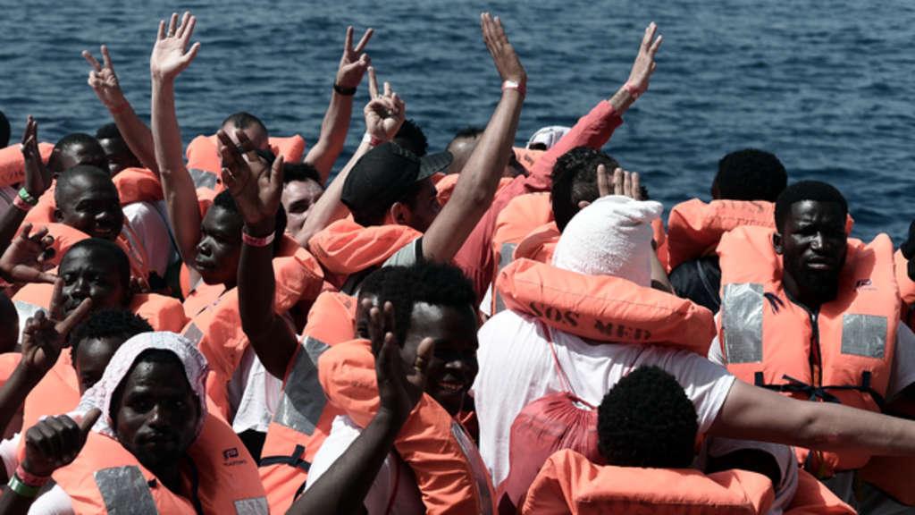 Frankreich Flüchtlinge