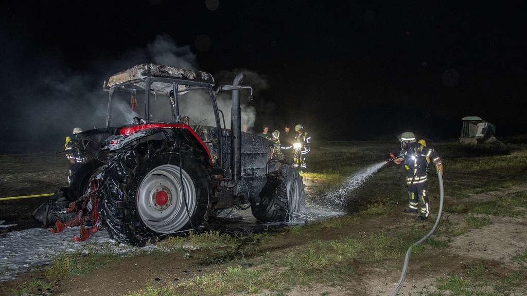 03.07.2018 Traktorbrand Halver-Kotten;Löschzug Stadtmitte