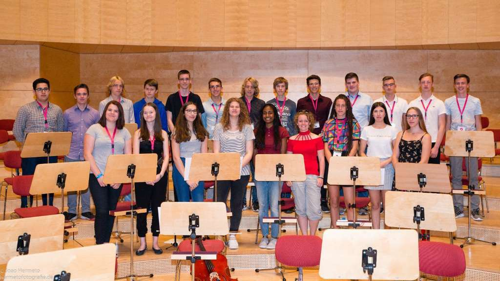 """Burggymnasiasten """"Mittendrin statt nur dabei"""" beim Jungen Orchester NRW (07.07.2018)"""