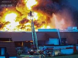 Großbrand in Galvanikfirma in Iserlohn