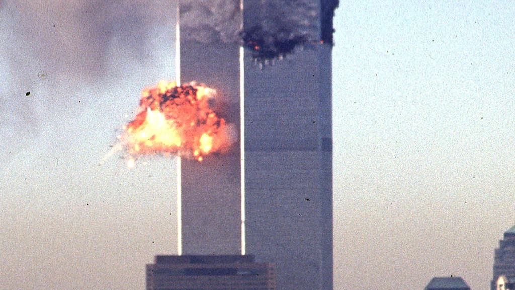 Am 11. September 2001 zerstörten Terroristen da World Trade Center.