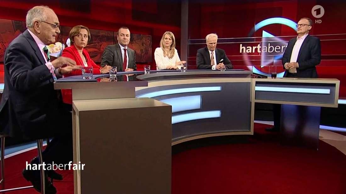 "ARD-Talkshow""Hart aber fair"": Brexit-Diskussion"