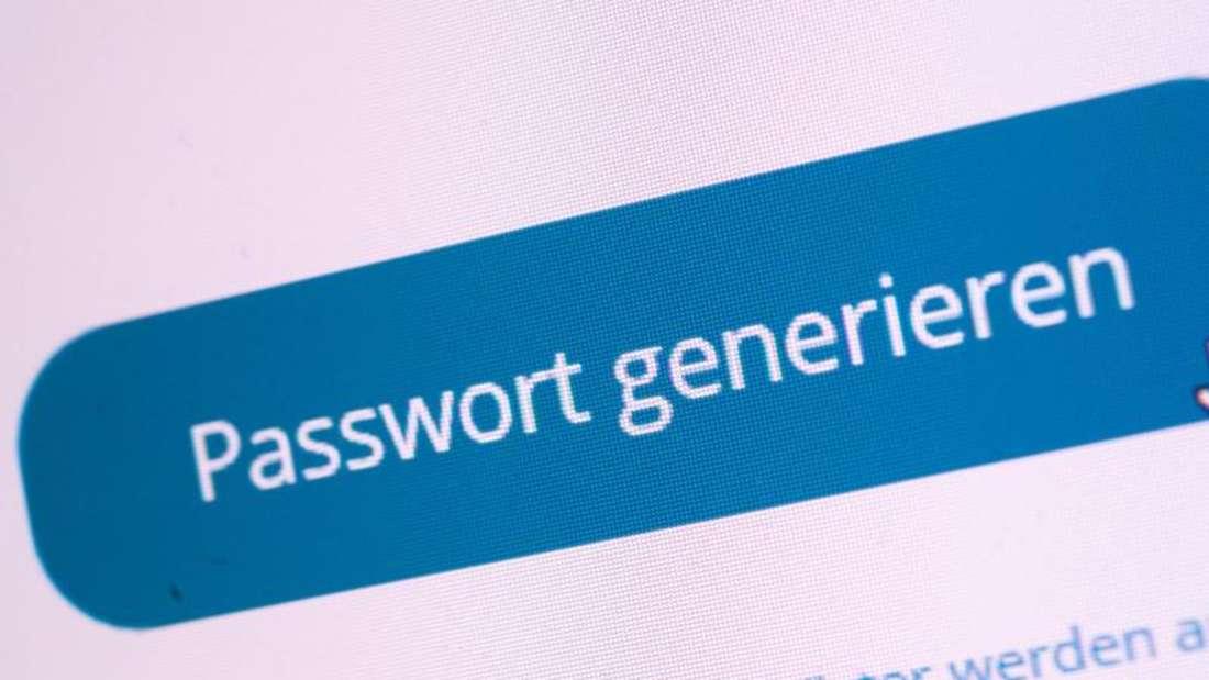 Passwort-Manager machen das Leben leichter - und erstellen auf Wunsch auch gleich sichere Passwörter. Foto: Andrea Warnecke