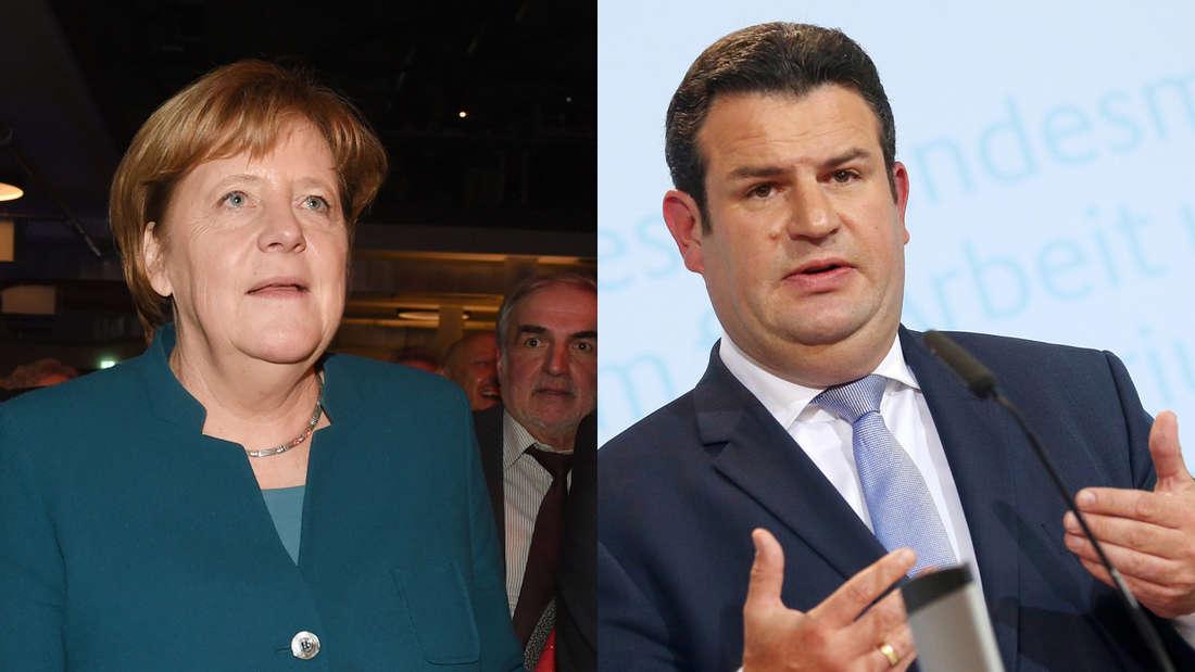 """Respekt-Rente"" Hubertus Heil (SPD): GroKo-Spaltung? Jetzt reagiert Merkel"