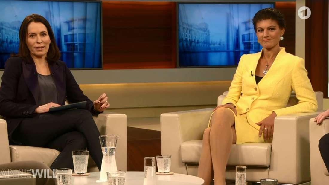 Sahra Wagenknecht im ARD-Talk mit Anne Will