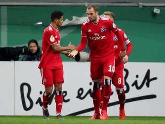 0c2c50c11c Pokal-Coup ermutigt: HSV hofft auf Schub im Aufstiegskampf