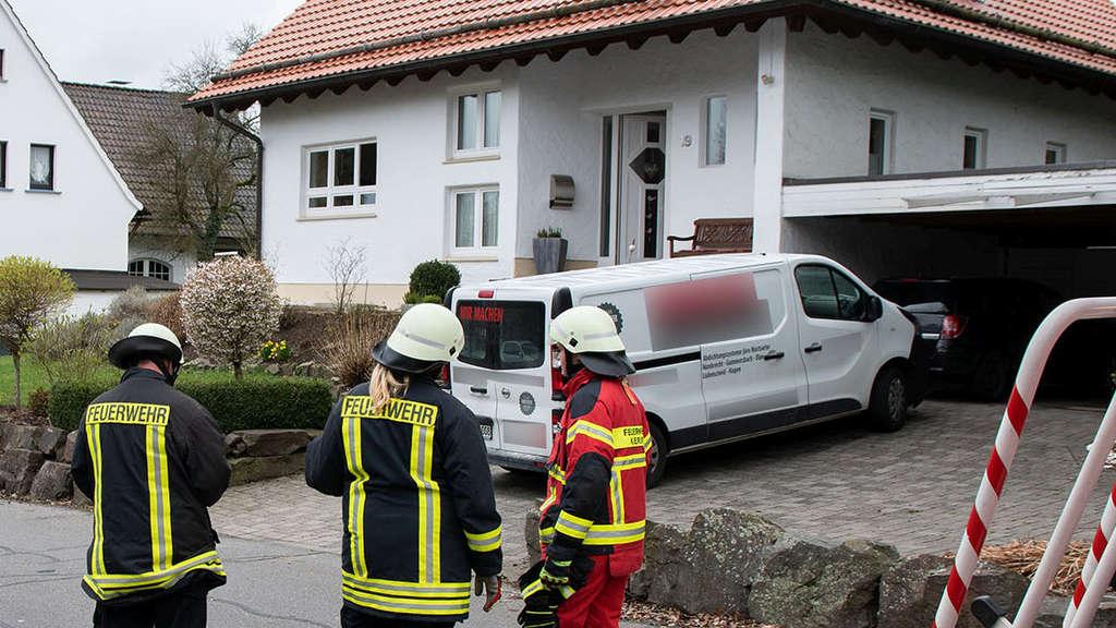 Kurios Einsatz Gegen Nässe Endet Mit Feuerwehreinsatz Kierspe