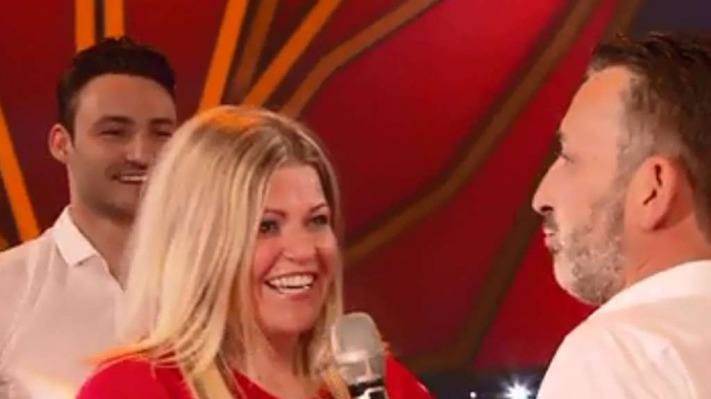 Gänsehautmoment bei Let's Dance (Screenshot rtl.de)
