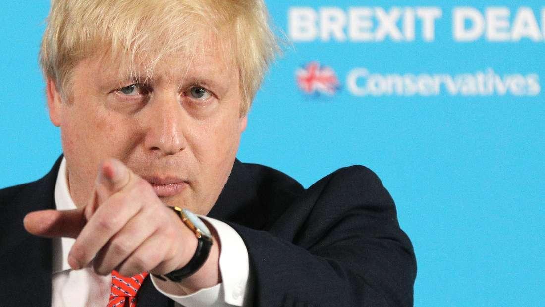 Trump über Boris Johnson