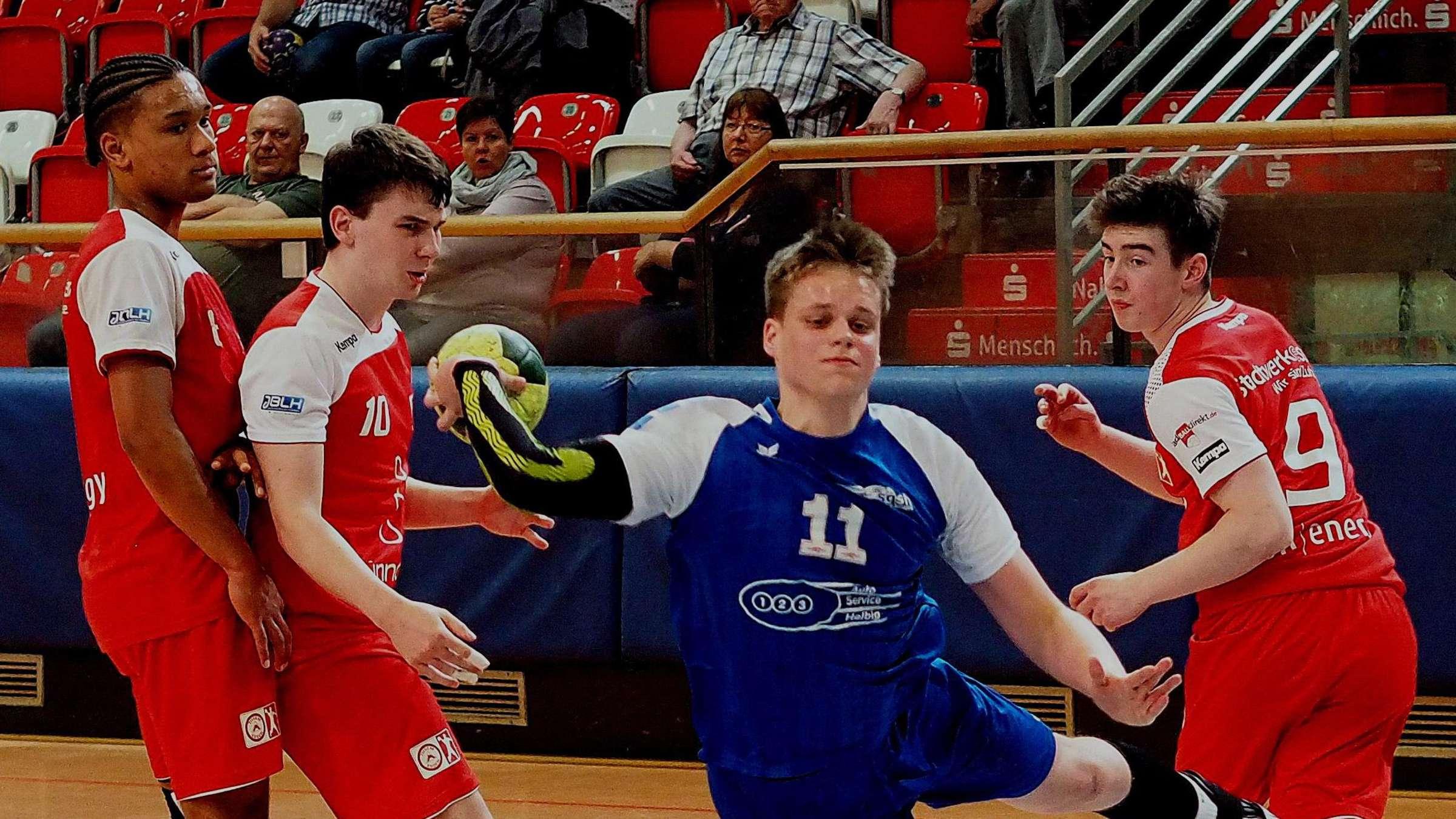 Handball Nachster Anlauf Der Sgsh Dragons In Richtung A