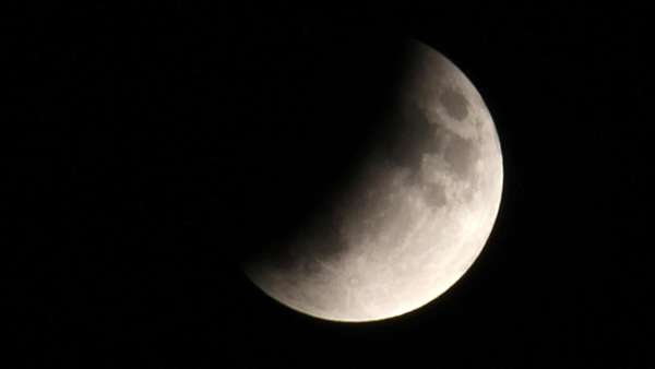 Mondfinsternis 2019 in Deutschland:  Naturspektakel im Video