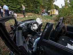 Drei Verletzte nach schwerem Unfall auf der L892