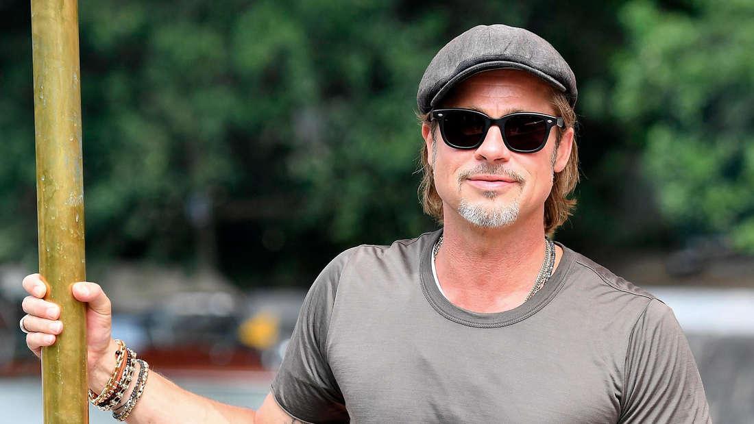 Brad Pitt gab zu: Er war bei den Anonymen Alkoholikern.