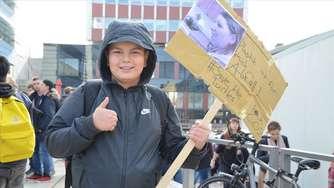 """Fridays4Future"": Klima-Demo in Lüdenscheid, Teil 1"