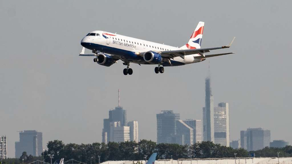 Feuer in British-Airways-Kabine - Passagier: