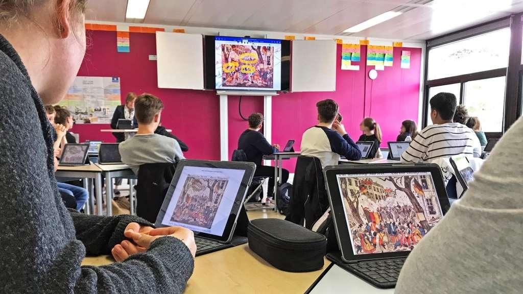 Eigene E-Mail-Konten für Schüler: Burggymnasium mischt digital vorne mit (20.12.2019)