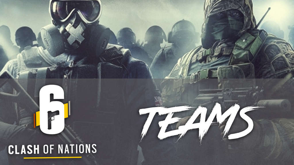 rainbow six siege clash of nations teams