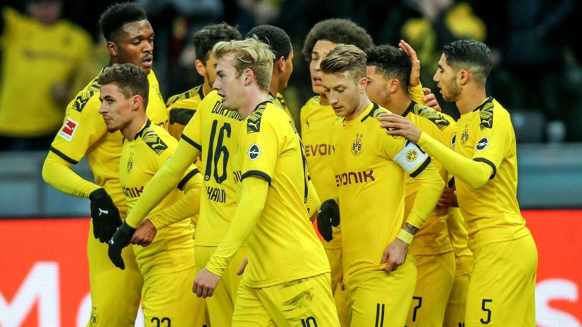 Aufstellung BVB: Borussia Dortmund startet ohne Erling ...