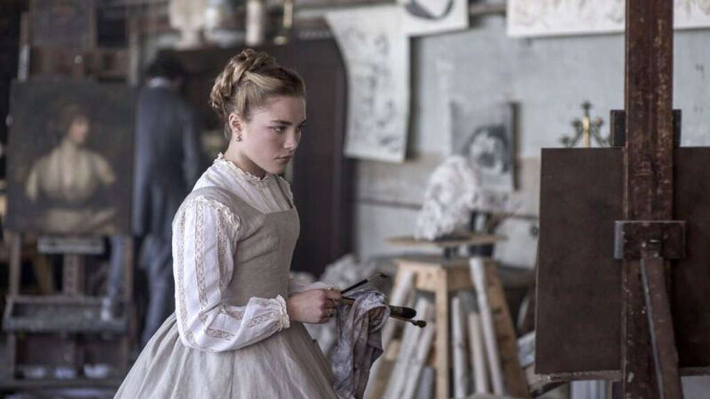 "Florence Pugh als Amy March in dem Film ""Little Women"", der am Donnerstag (30.01.2020) in die Kinos kommt."