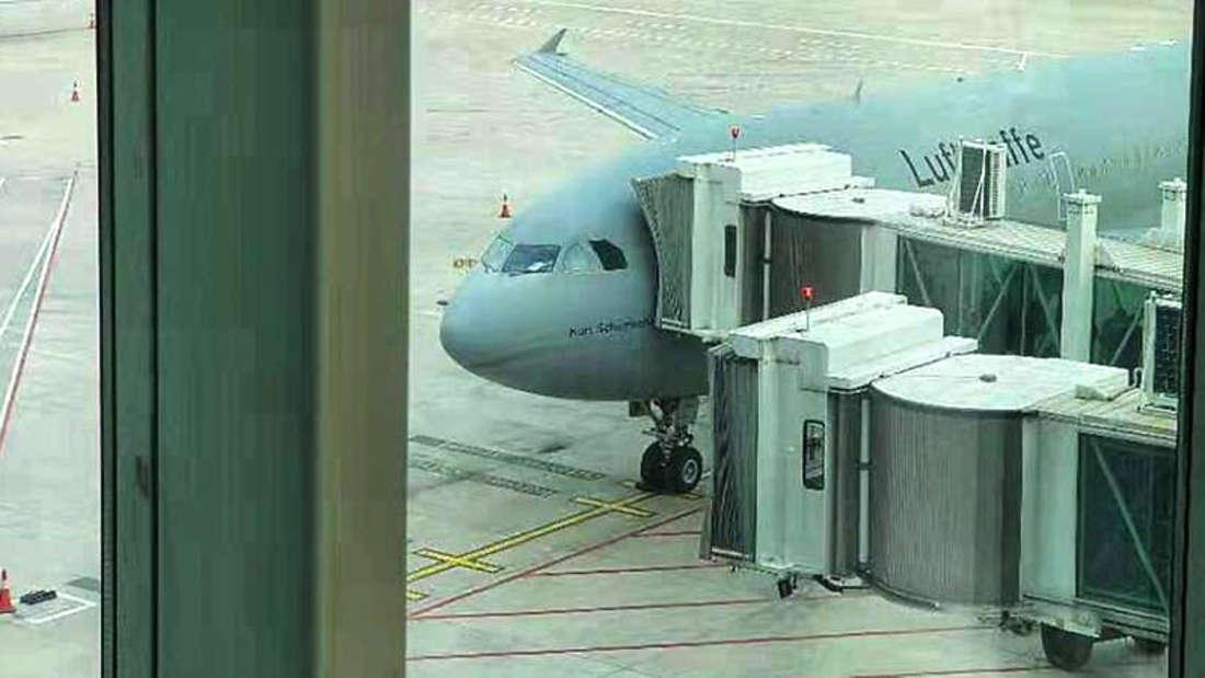 Coronavirus: Russland hat der Luftwaffen-Maschine mit 128 Rückkehrern aus Wuhan die Zwischenlandung in Moskau verwehrt.