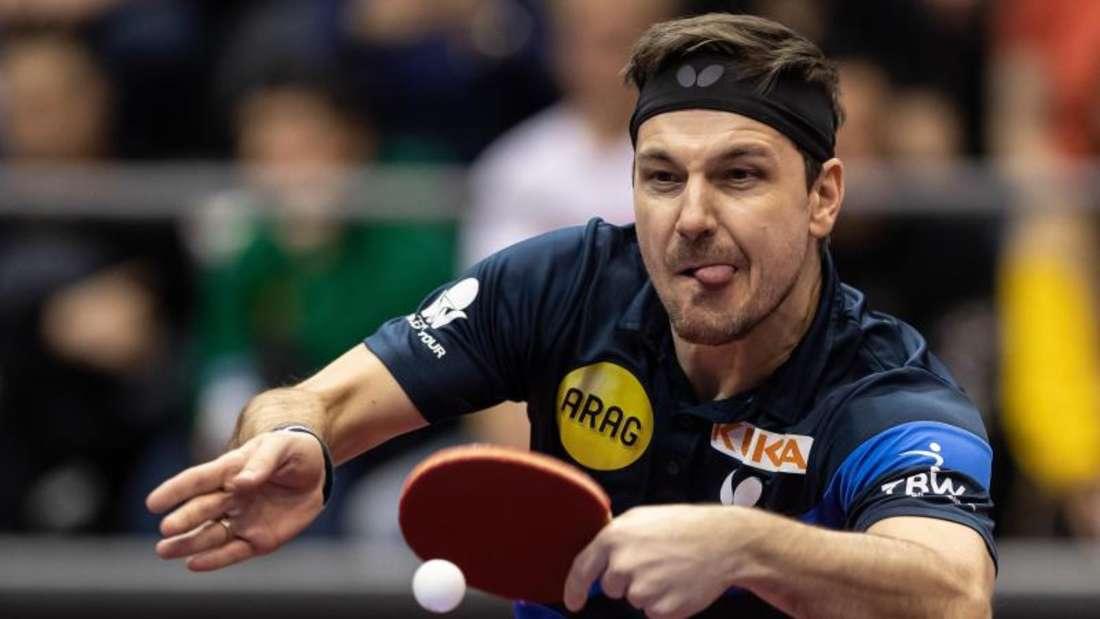 Hat zum fünften Mal nacheinander gegen die Nummer eins des Tischtennis verloren: Timo Boll in Aktion. Foto: Swen Pförtner/dpa