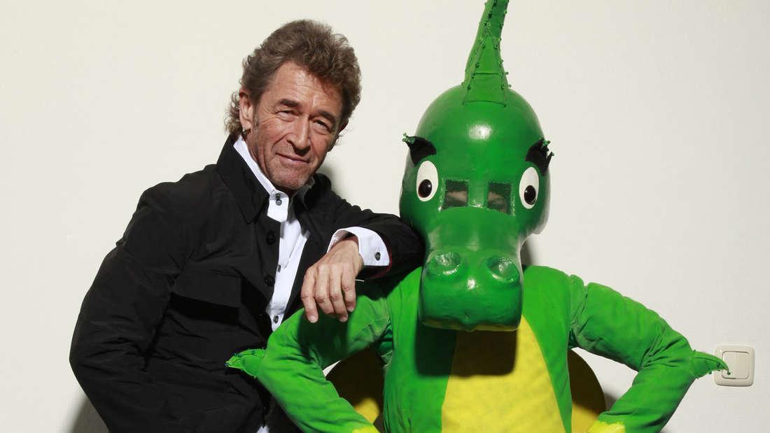 Peter Maffay mit Tabaluga.