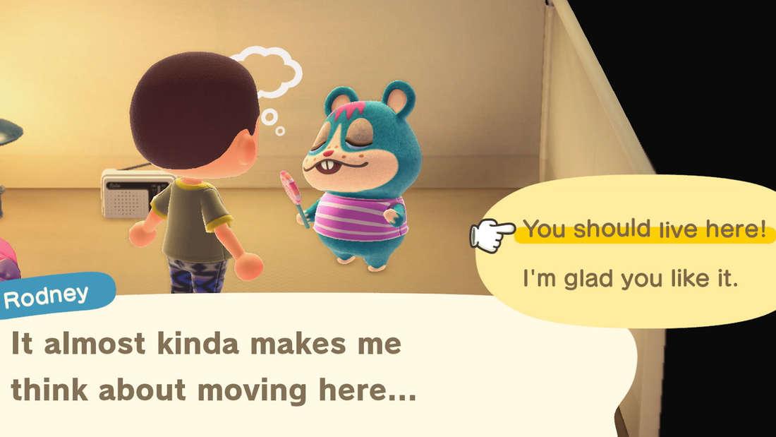 Bei Animal Crossing: New Horizons sind neue Bewohner eigentlich ohne Probleme