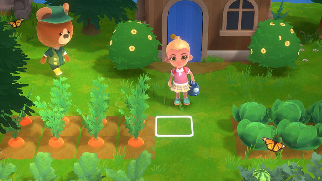 Auch in Hokko Life auf dem PC müssen Spieler ihren Garten pflegen.