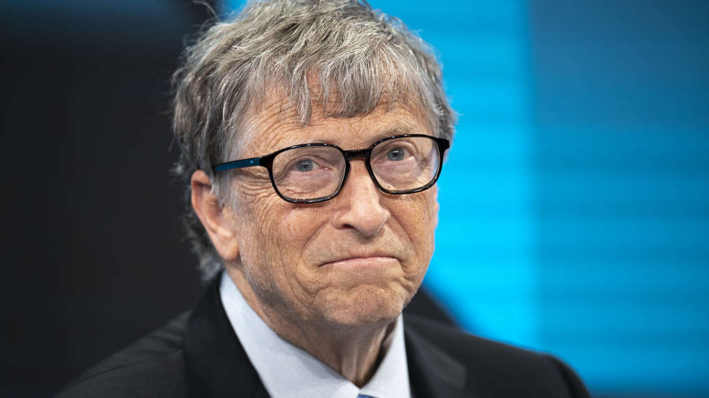 "Bill Gates, Vorsitzender der ""Bill & Melinda Gates Foundation"""