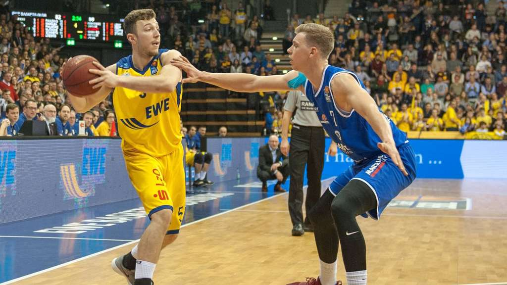 GER Beko BBL EWE Baskets Oldenburg vs Rockets Erfurt 10 02 2018 EWE Arena Oldenburg GER BBL