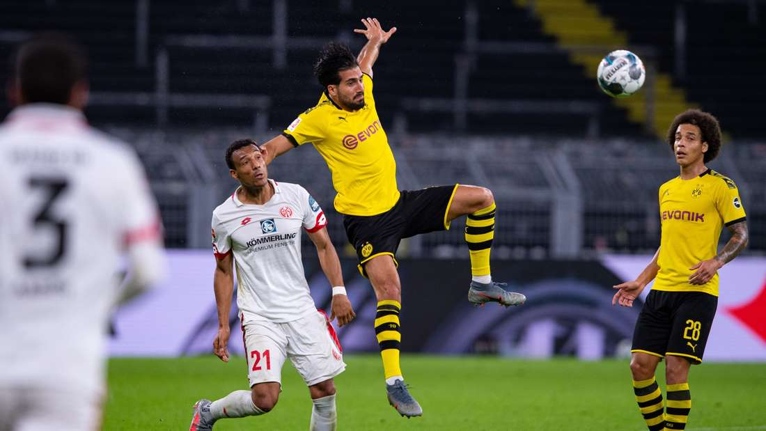 Borussia Dortmund kämpft am 32. Bundesliga-Spieltag gegen Mainz 05 um die Vizemeisterschaft.