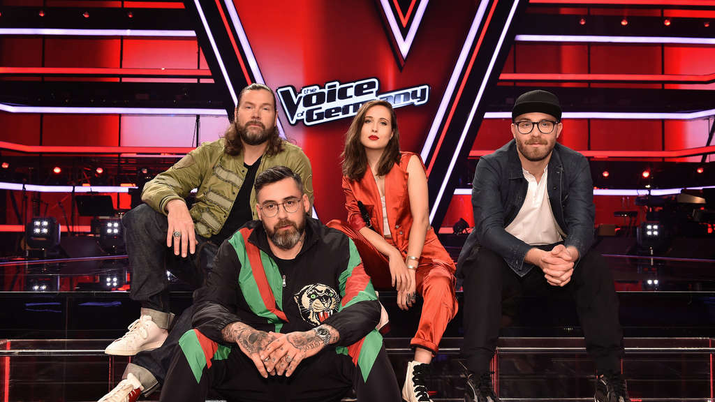 "Die Jury in der 9. Staffel von ""The Voice of Germany"". Nun gibt es Änderungen."