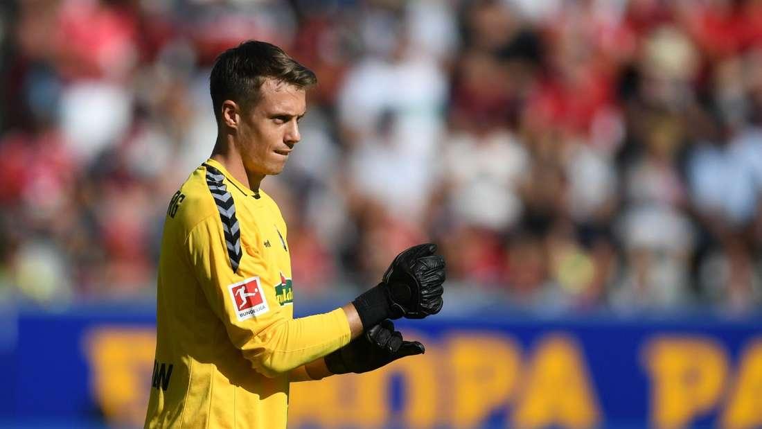 Alexander Schwolow steht beim SC Freiburg noch bis zum 30. Juni 2022 unter Vertrag.