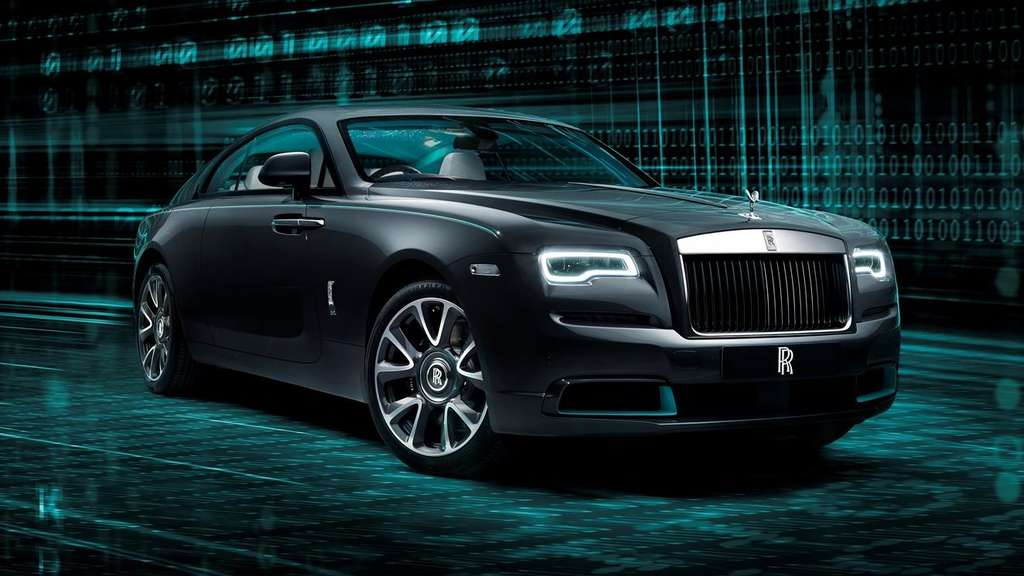 Ein Rolls-Royce Wraith der Kryptos-Collection.