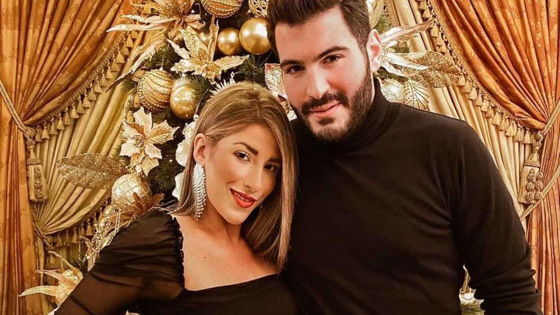 Christina Francis mit ihrem Verlobten Karl.