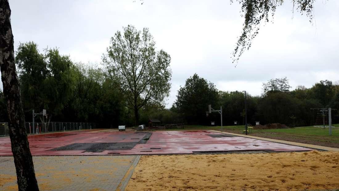 Der Mehrgenerationenpark in Oberbrügge ist fast fertig