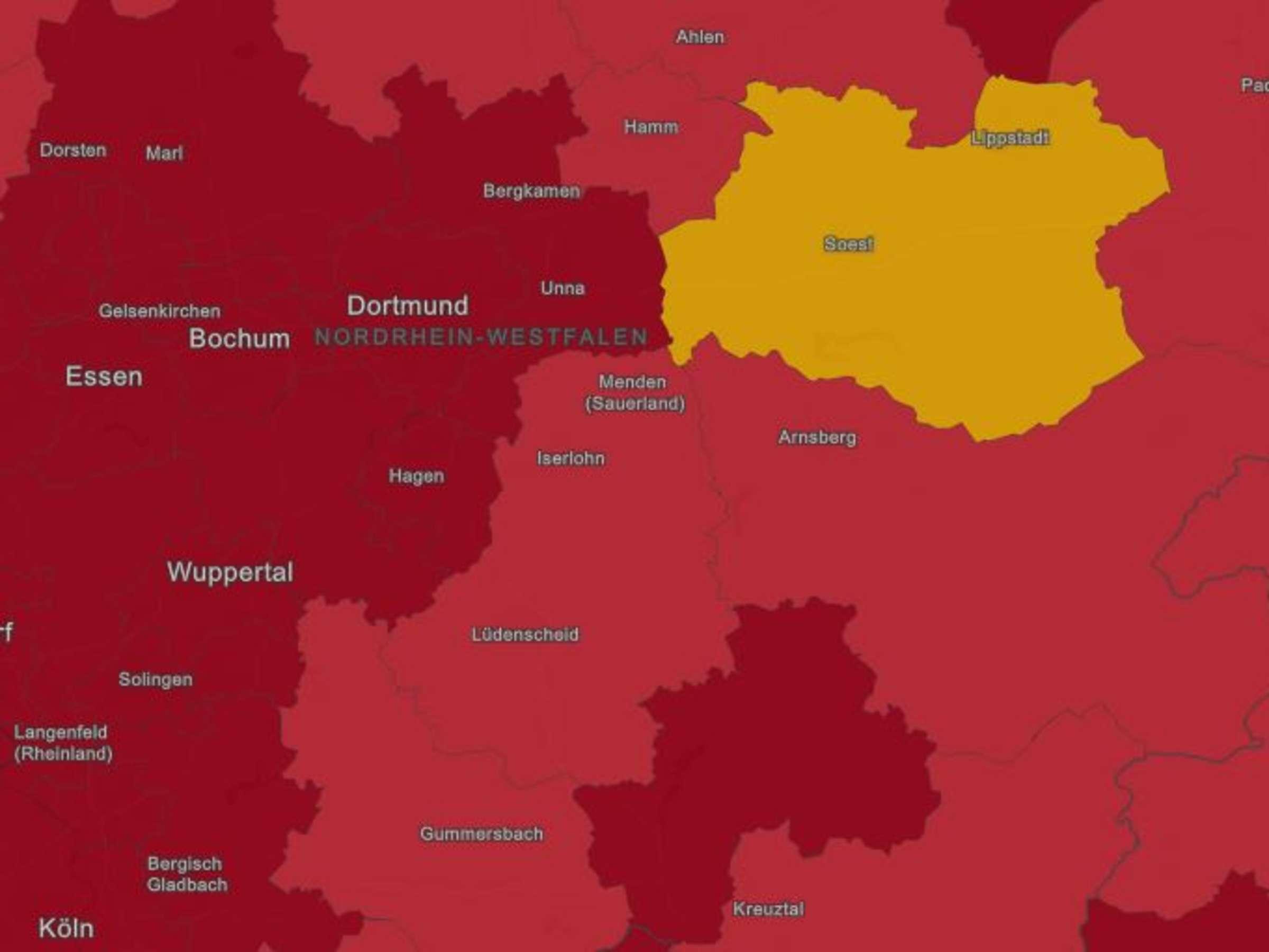 Corona Im Mk Inzidenz Fast Bei 100 Lokale Zahlen Infektionen In 14 Pflegeheimen Kreis Und Region