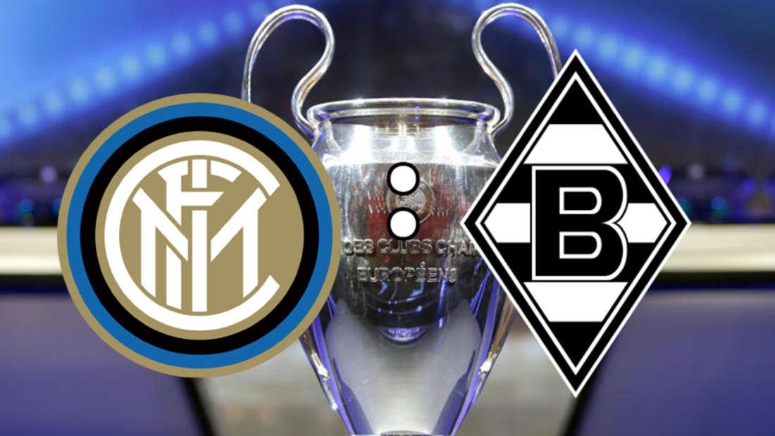 Inter Mailand fordert Borussia Mönchengladbach im San Siro.