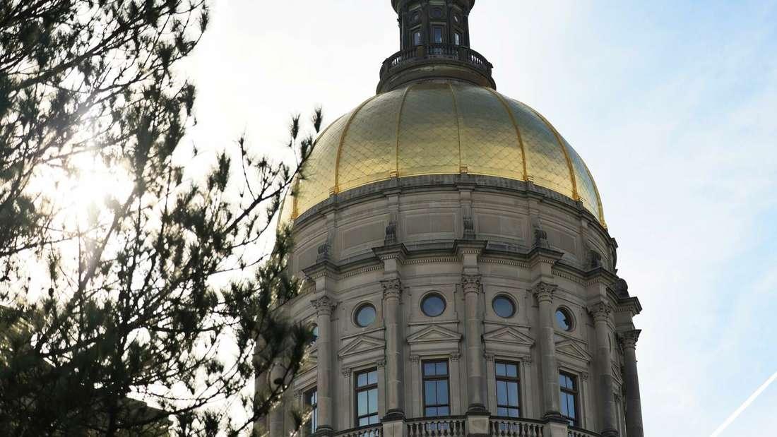 Das Kapitol in Atlanta/Georgia ist in der nächsten Legislaturperiode in demokratischer Hand