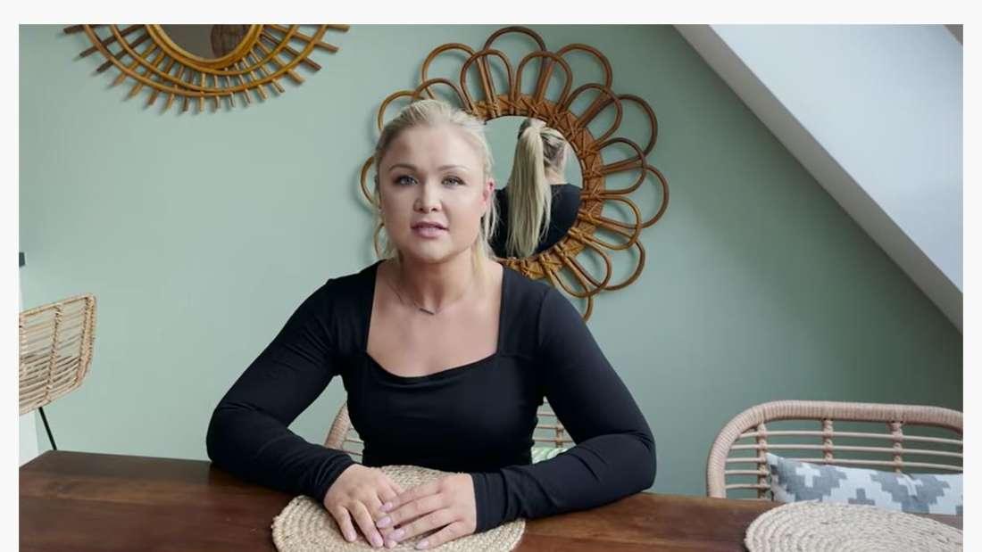 Ein Screenshot des YouTube-Videos von Sophia Thiel