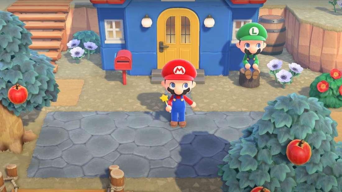 """Screenshot aus """"Animal Crossing: New Horizons"""""""