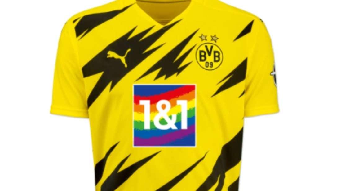 Der BVB setzt gegen den FC Bayern ein Zeichen mit einem Sondertrikot.