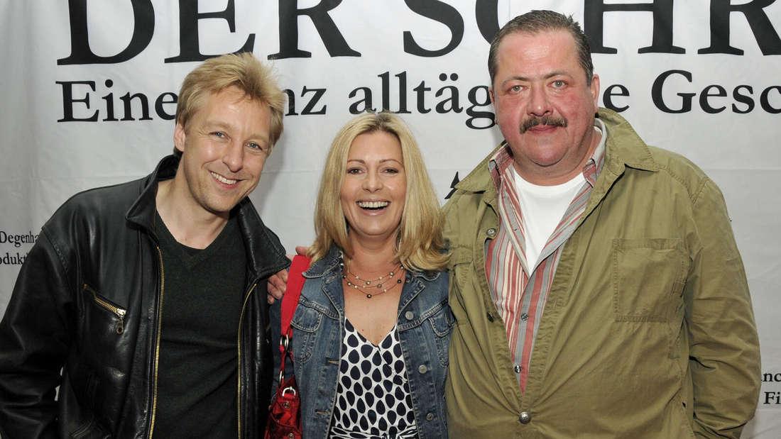 Rosenheim-Cops-Darsteller auf Abwegen - zu Gast bei einer Filmpremiere in einem Münchner Kino
