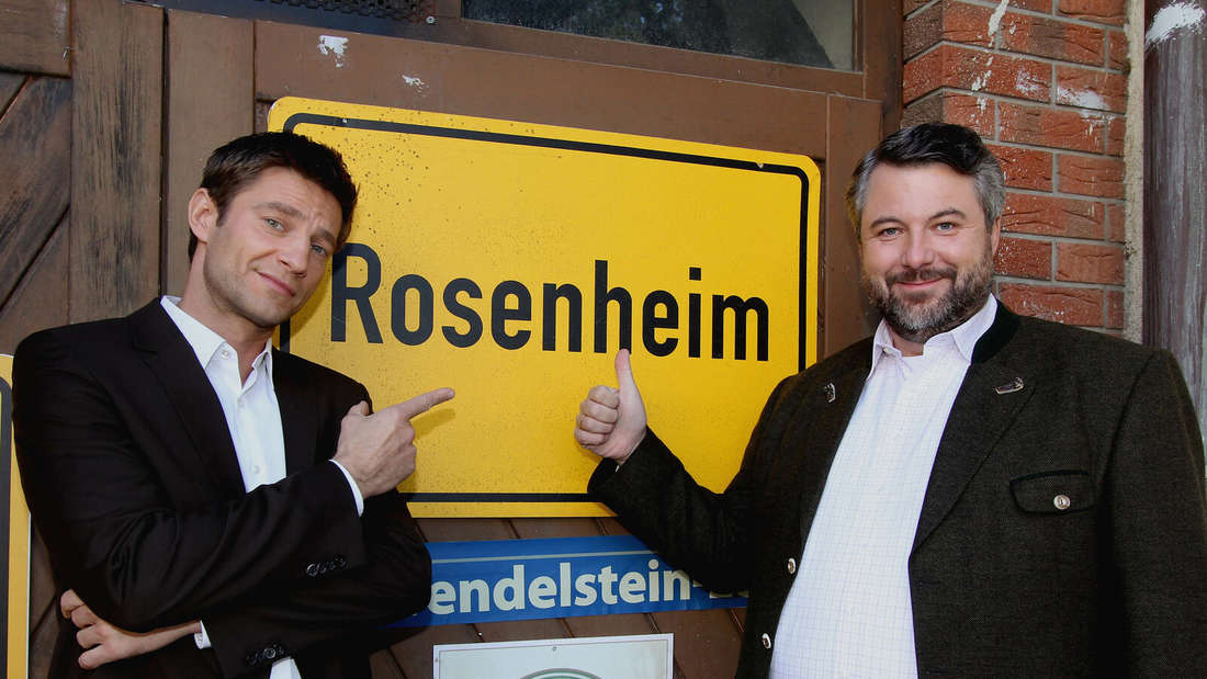 Die Rosenheim Cops: Igor Jeftic und Dieter Fischer
