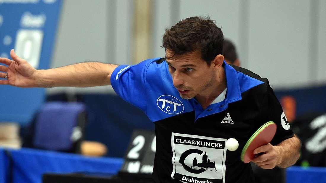 Teo Yordanov, Spielertrainer des TTC Altena