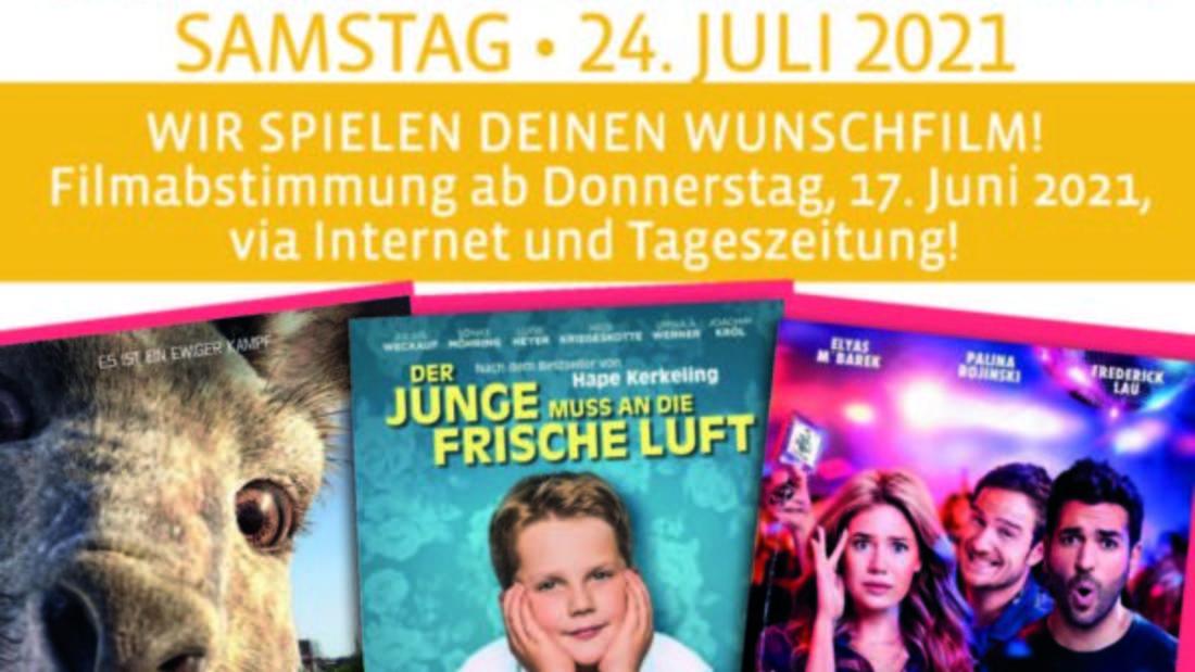 Bis zum 3. Juli können die Plettenberger für einen dieser Filme stimmen.