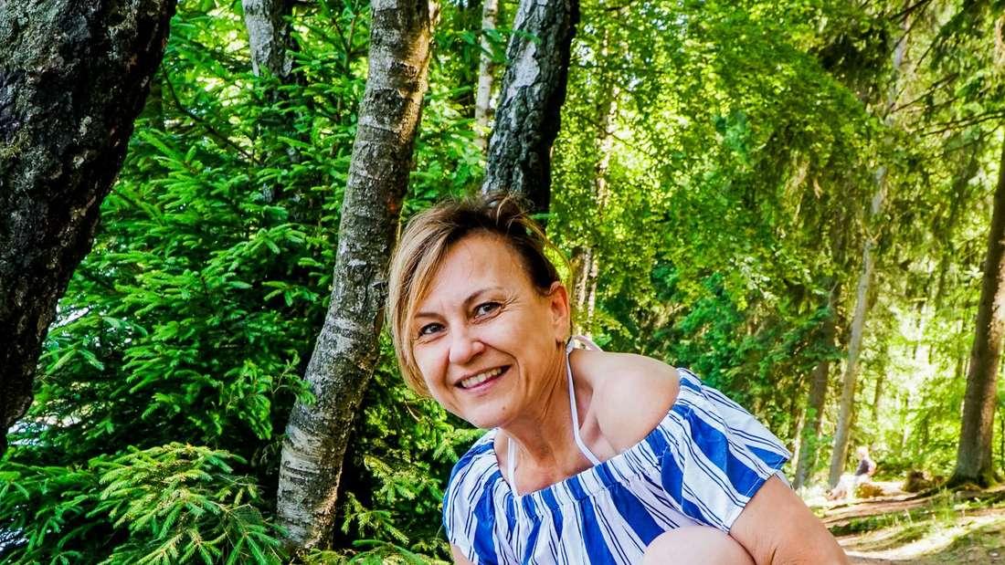 Beatrix Moewes war mit Hündin Josie auf den Wegen entlang der Oester unterwegs.