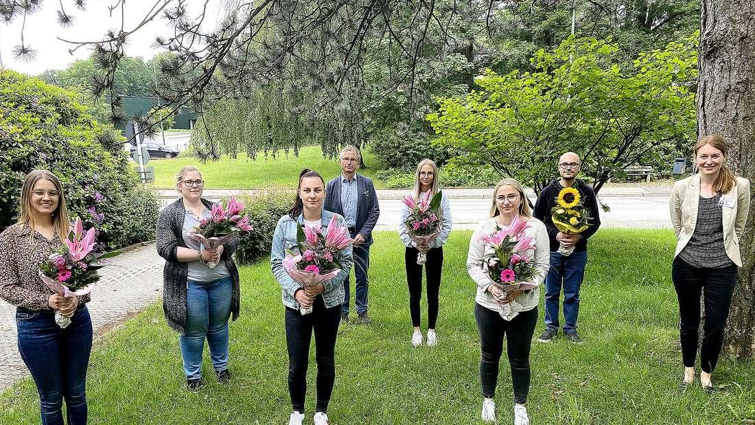 Absolventen der Märkischen Gesundheitsholding in Lüdenscheid